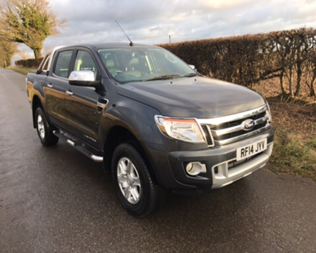 USED 2014 14 FORD RANGER LIMITED 4X4 DCB TDCI