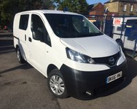 USED 2016 66 NISSAN NV200 1.5 DCI ACENTA 1d 90 BHP REAR SEATS
