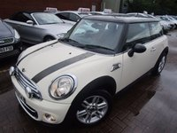 USED 2011 11 MINI HATCH COOPER 1.6 COOPER D 3d 112 BHP PX TO CLEAR NEW IN