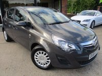 USED 2014 64 VAUXHALL CORSA 1.2 S AC 5d 83 BHP AIR CONDITIONING, NEW MOT, FULL SERVICE HISTORY, SPARE KEY
