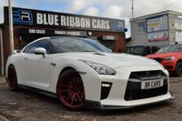 2017 NISSAN GT-R 3.8 V6 Recaro Coupe 4WD 2dr £79990.00
