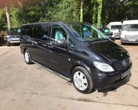 USED 2010 10 MERCEDES-BENZ VITO 3.0 AUTOMATIC EXTRA LONG TRAVELINER Automatic, Extra LWB, Electric Side Doors, Air Con