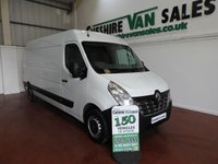 USED 2015 15 RENAULT MASTER 2.3 LM35 BUSINESS DCI 125 BHP WITH FSH  1 FLEET OWNER WITH FSH CHOICE IN STOCK