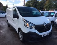 2014 RENAULT TRAFIC 1.6 LL29 BUSINESS DCI S/R P/V 1d 115 BHP £10000.00