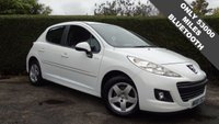 2010 PEUGEOT 207 1.4 MILLESIM 5d 95 BHP ONLY 53000 MILES, GREAT CONDITION FINISHED IN STUNNING WHITE, BLUETOOTH HANDS-FREE  £3780.00