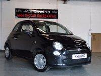 2011 FIAT 500 1.2 POP 3d 69 BHP £SOLD