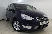 USED 2014 64 FORD GALAXY 2.0 TITANIUM TDCI 5DR 138 BHP FULL FORD SERVICE HISTORY + 7 SEATS + PARKING SENSOR + CRUISE CONTROL + MULTI FUNCTION WHEEL + CLIMATE CONTROL + 17 INCH ALLOY WHEELS