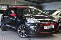 USED 2013 13 CITROEN DS3 1.6 DSPORT RED 3d 155 BHP