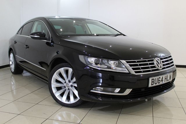 View our 2014 64 VOLKSWAGEN CC 2.0 GT TDI BLUEMOTION TECHNOLOGY 4DR 138 BHP