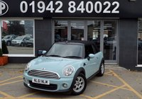 USED 2011 61 MINI CONVERTIBLE 1.6 ONE 2d 98 BHP