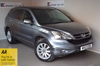 USED 2012 12 HONDA CR-V 2.0 I-VTEC EX 5dr Auto Immaculate  - 4 Wheel Drive - Black Leather - Automatic - Must Be Seen