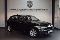 USED 2014 63 BMW 1 SERIES 1.6 114D ES 5DR 94 BHP + 1 OWNER FROM NEW + DAB TUNER + AIR CONDITIONING + 17 INCH STAR SPOKED ALLOY WHEELS +