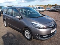 2013 RENAULT SCENIC 1.5 GRAND DYNAMIQUE TOMTOM ENERGY DCI S/S 5d 110 BHP £8500.00