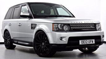 2012 LAND ROVER RANGE ROVER SPORT 3.0 SD V6 HSE (Luxury Pack) 4X4 5dr Auto [8] £24995.00