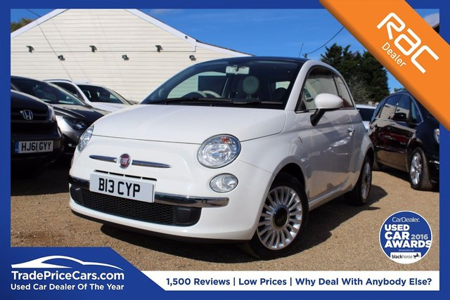 View our 2010 B FIAT 500 1.2 LOUNGE 3d 69 BHP