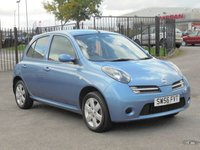 2007 NISSAN MICRA 1.2 ACTIV LIMITED EDITION 5d 80 BHP £SOLD