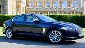 2012 JAGUAR XF 2.2 D PREMIUM LUXURY 4d AUTO 190 BHP £12720.00