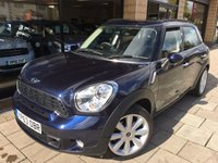 2013 MINI COUNTRYMAN 2.0 COOPER SD ALL4 5d AUTO 141 BHP £14495.00