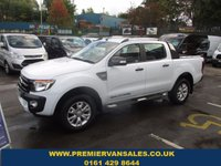 2015 FORD RANGER 3.2 WILDTRAK 4X4 DCB TDCI 200 BHP WHITE LOW MILES 17,000 REMAIN FORD WARRANTY 2019  BRAND NEW CONDITION  £18995.00