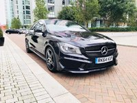 USED 2014 64 MERCEDES-BENZ CLA 2.1 CLA220 CDI AMG SPORT 4d AUTO 170 BHP