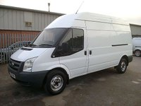 USED 2010 10 FORD TRANSIT T350 115PS 6 SPEED LWB 3500KG