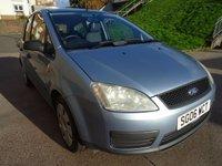 2006 FORD C-MAX 1.8 C-MAX LX TDCI 5d 116 BHP £1850.00