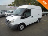 USED 2011 61 FORD TRANSIT SWB Semi High Roof 2.2 TDCI 85 *RACKING SYSTEM*