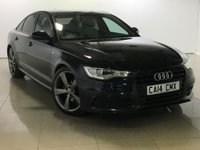 USED 2014 14 AUDI A6 2.0 TDI ULTRA S LINE BLACK EDITION 4d AUTO 188 BHP One Owner From New/Huge Spec