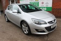 USED 2014 14 VAUXHALL ASTRA 2.0 SRI CDTI ECOFLEX S/S 5d 163 BHP +Sat Nav +Bluetooth +LOW Tax.
