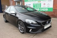 USED 2014 64 VOLVO V40 1.6 D2 R-DESIGN 5d 113 BHP +LOW Tax Band +FULL Service History.