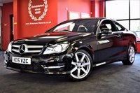 USED 2015 15 MERCEDES-BENZ C CLASS 2.1 C220 CDI AMG SPORT EDITION 2d AUTO 168 BHP