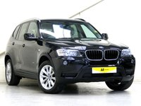2014 BMW X3 2.0 XDRIVE20D SE 5d AUTO 181 BHP [OYSTER LEATHER] £17287.00