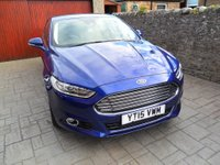USED 2015 15 FORD MONDEO 2.0 TDCi Titanium 5dr (start/stop) FSH. SAT NAV. £30 ROAD TAX.