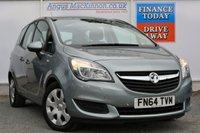 USED 2014 64 VAUXHALL MERIVA 1.4 EXCLUSIV AC 5d AUTO 118 BHP **ONE OWNER FROM NEW**