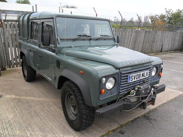 2008 08 LAND ROVER DEFENDER 2.4 DOUBLE CAB PICK UP