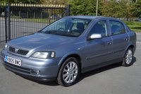 USED 2005 05 VAUXHALL ASTRA 1.6 SPORT 16V TWINPORT 5d 100 BHP Excellent Example