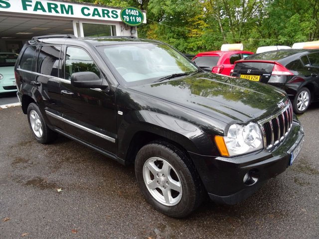 2007 57 JEEP GRAND CHEROKEE 3.0 V6 CRD LIMITED 5d AUTOMATIC 215 BHP 4WD
