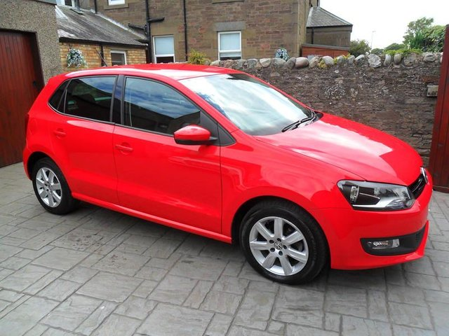 2013 13 VOLKSWAGEN POLO 1.2 60 MATCH EDITION 5DR