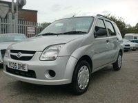 2005 SUZUKI IGNIS 1.5 GL VVT-S 5d AUTO 98 BHP £1595.00
