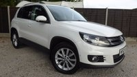 USED 2012 62 VOLKSWAGEN TIGUAN 2.0 SE TDI BLUEMOTION TECHNOLOGY 4MOTION 5dr Parking Sensors, B/tooth, FSH