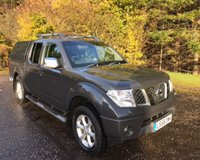 USED 2009 58 NISSAN NAVARA 2.5 AVENTURA DCI 4X4 NO VAT 4DR PICK UP AUTO 169 BHP 6 MONTHS PARTS+ LABOUR WARRANTY+AA COVER