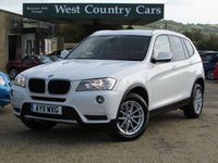 USED 2011 11 BMW X3 2.0 XDRIVE20D SE 5d AUTO 181 BHP Efficient Automatic X3