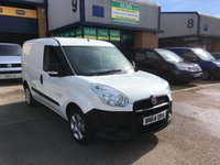 USED 2014 64 FIAT DOBLO 1.2 16V MULTIJET 1d 90 BHP 59,000 MILES, E/W, SPARE KEY, 6 MONTH WARRANTY & FINANCE ARRANGED. E/W, Radio/CD, Drivers airbag, Factory fitted bulk head, Side loading door, Ply-lined, White, Very Good Condition, 1 Owner, Central Locking, Drivers Airbag, CD Player/FM Radio, Steering Column Radio Control, Side Loading Door, Wood Lined, Barn Rear Doors, spare key.