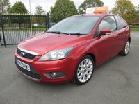 USED 2009 59 FORD FOCUS 1.6 ZETEC 3d 100 BHP 2 Owners with Service History
