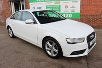USED 2012 62 AUDI A4 2.0 TDIE SE TECHNIK 4d 161 BHP +Heated LEATHER +Just Serviced +LOW Tax Band.