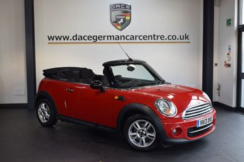 2013 MINI CONVERTIBLE 1.6 COOPER D 2DR 112 BHP £8740.00