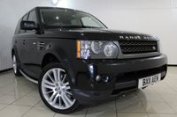 USED 2011 11 LAND ROVER RANGE ROVER SPORT 3.0 TDV6 HSE 5DR AUTOMATIC 245 BHP FULL SERVICE HISTORY + HEATED LEATHER SEATS + SAT NAVIGATION + REVERSE CAMERA + BLUETOOTH + CRUISE CONTROL + MULTI FUNCTION WHEEL + 20 INCH ALLOY WHEELS