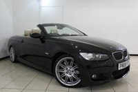 USED 2008 08 BMW 3 SERIES 3.0 335I M SPORT 2DR AUTOMATIC 302 BHP HEATED LEATHER SEATS + SAT NAVIGATION PROFESSIONAL + PARKING SENSOR + CRUISE CONTROL + CLIMATE CONTROL + MULTI FUNCTION WHEEL + 18 INCH ALLOY WHEELS