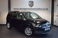 USED 2012 12 VOLKSWAGEN TOURAN 1.6 SE TDI DSG 7 SEATER 5DR AUTO 106 BHP + FULL VW SERVICE HISTORY + 1 OWNER FROM NEW + 7 SEATER + CRUISE CONTROL + SPORT SEATS + HEATED MIRRORS + PARKING SENSORS + 16 INCH ALLOY WHEELS +