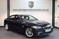 USED 2014 64 BMW 5 SERIES 3.0 530D M SPORT 4DR AUTO 255 BHP + FULL BLACK LEATHER INTERIOR + FULL BMW SERVICE HISTORY + SATELLITE NAVIGATION + HEATED SPORT SEATS + CRUISE CONTROL + PARKING SENSORS + AUTO AIR CONDITIONING + 18 INCH ALLOY WHEELS +